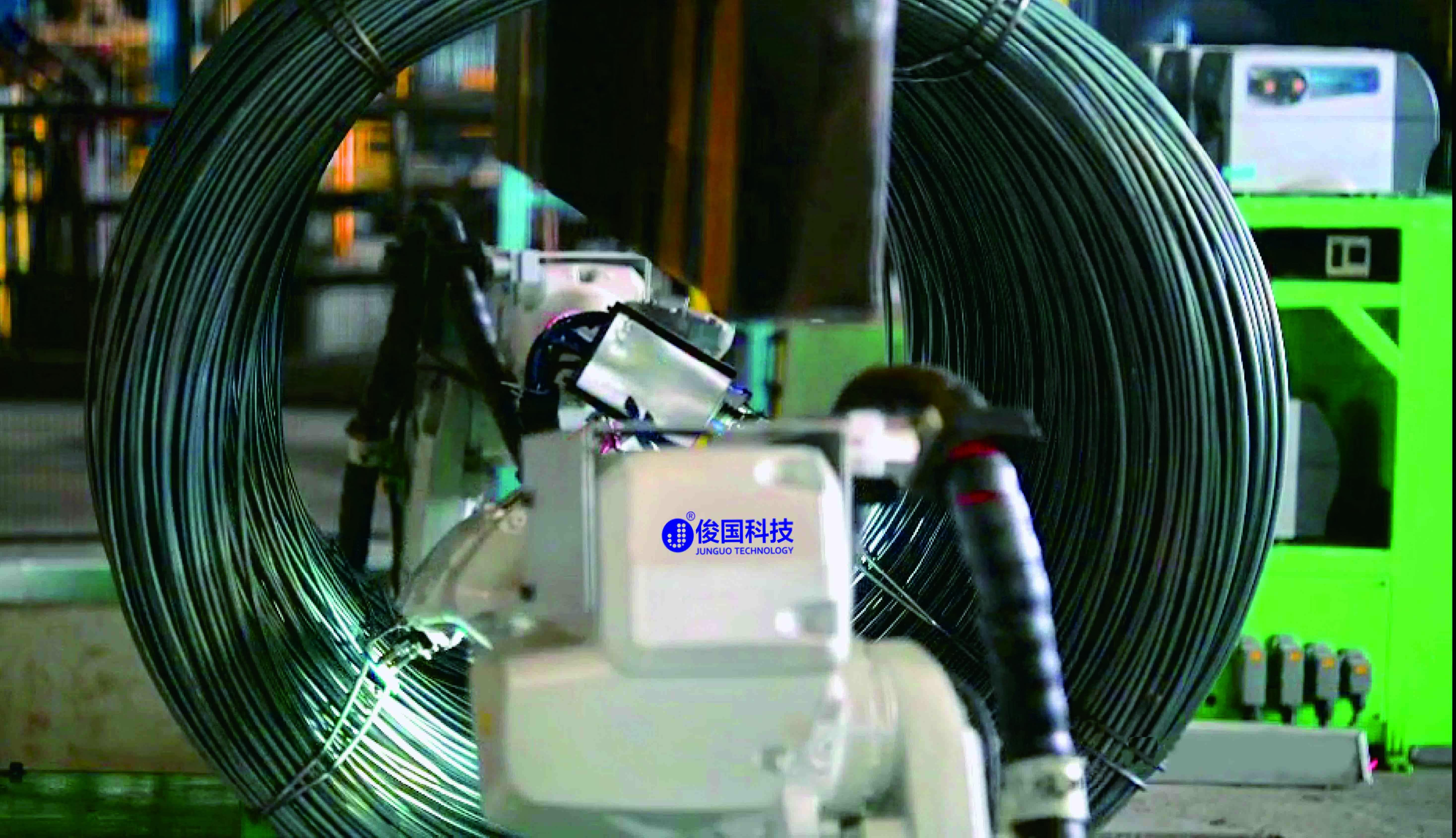 WAW机器人线材自动焊牌系统