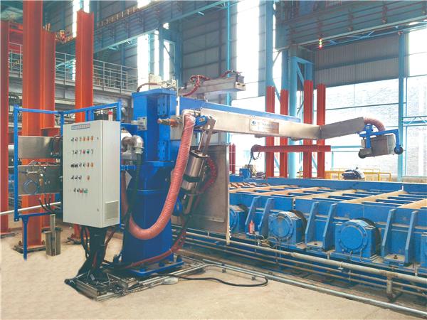 FPM-R热钢板喷印标识系统